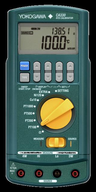 Калибратор сигналов термосопротивлений CA330