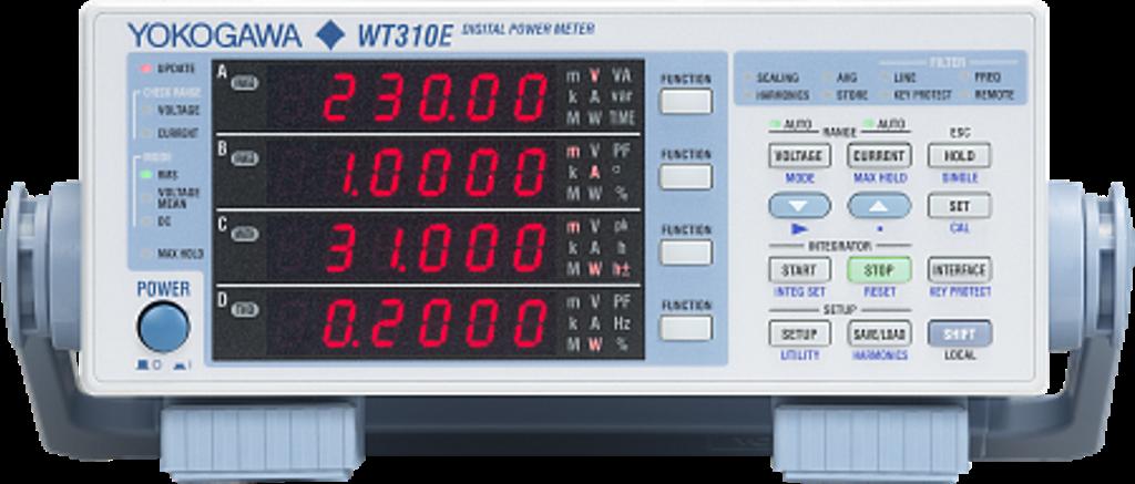 Цифровые измерители мощности серии WT300E